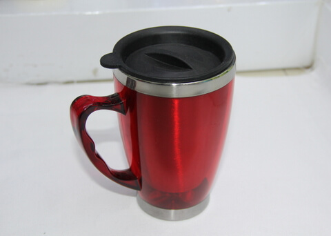 Cheap Stainless Steel Promotional Cups With Lid 450ml #00102-0