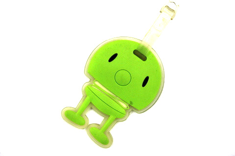 Silicone/Rubber luggage tags, pet elf, , #02001-0010-3