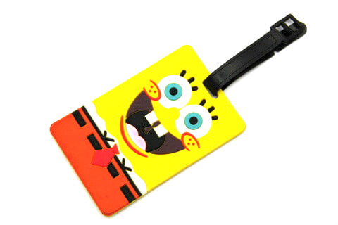Silicone/Rubber luggage tags, cartoon,Despicable Me, #02001-055-1