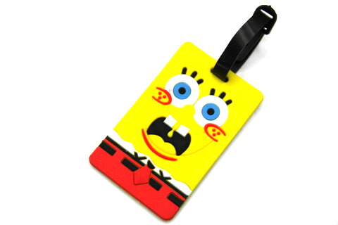 Silicone/Rubber luggage tags, cartoon,Despicable Me, #02001-055-2