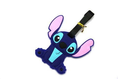 Silicone/Rubber luggage tags, cartoon,cutie, #02001-076