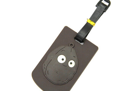 Silicone/Rubber luggage tags for tourist souvenir & gifts, bomb, #02005-018