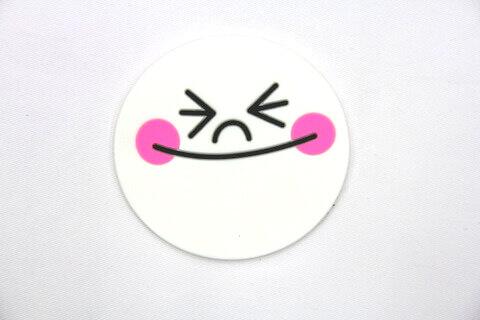 Custom Silicone/Rubber Coasters Cartoon Cutie  #02008-007