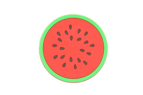 Custom Silicone/Rubber Coasters Watermelon #02009-003
