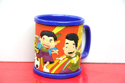 Silicone/rubber drinking cups with custom personalized designs for football promotional & souvenir gifts  #02010-009-2