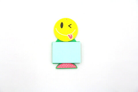 Silicone/Rubber Fridge Magnets Notepad Cute #02012-010