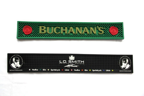 Custom Silicone Bar Mat, Buchanans, L.O. Smith  #02014-002