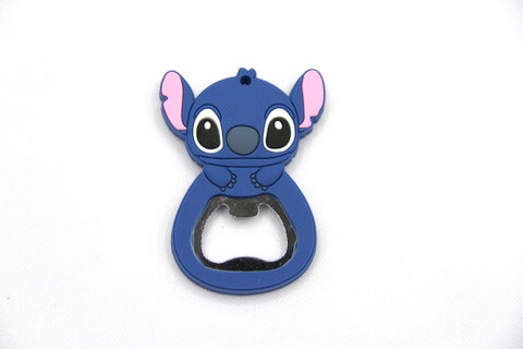 Silicone/rubber bottle opener cartoon #02015-007