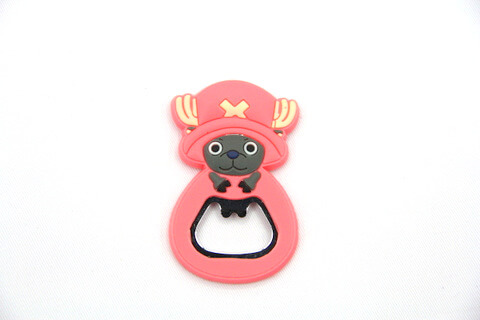 Silicone/rubber bottle opener cartoon #02015-018
