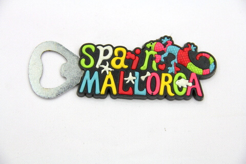 Silicone/rubber bottle opener Spain Malorca #02015-031