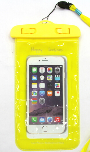 Silicone/Rubber Promotional Waterproof phone case #02016-007