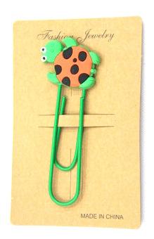 Silicone Rubber Bookmarks cartoon turtle #02018-001