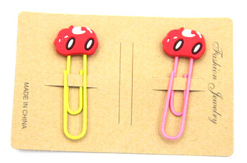 Silicone/Rubber Bookmarks cartoon #02018-008