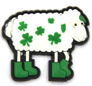 Silicone/Rubber fridge magnets Cute cartoon animals sheep #02021-012