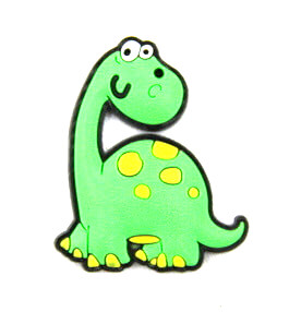 Silicone/Rubber fridge magnets Cute cartoon animals dinosaur  #02021-019