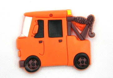Silicone/Rubber fridge magnets cute cartoon crane #02022-009