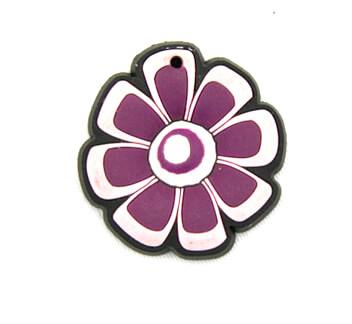 Silicone/Rubber fridge magnets cute cartoon, flower, #02023-005