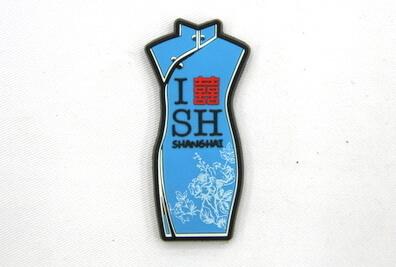 Silicone/Rubber Fridge Magnet tourist souvenirs, Shanghai, , # 02024-008