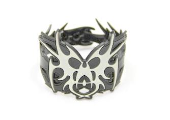 Silicone/Rubber (Soft Plastic) Bracelet Demon #02029-013