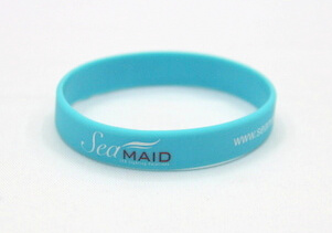 Silicone/Rubber (Soft Plastic) Wristband Imprint # 02030-007