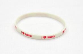 Silicone/Rubber (Soft Plastic) Wristband Imprint # 02030-009