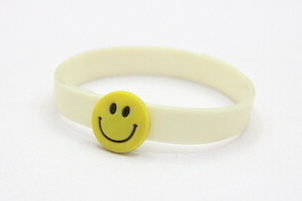 Silicone/Rubber (Soft Plastic) Wristband Assembled # 02030-010