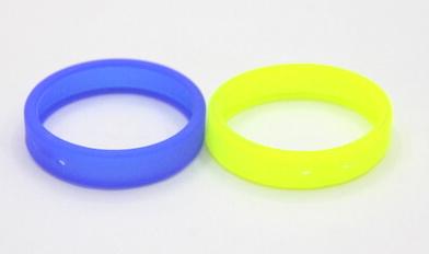 Plain Silicone/Rubber (Soft Plastic) Wristband # 02030-011