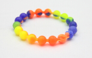 Silicone/Rubber (Soft Plastic) Beads # 02030-014