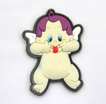 Silicone/Rubber fridge magnets, Cute cartoon, Angel, #02032-009