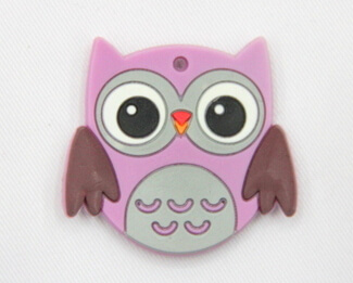 Silicone/Rubber fridge magnets, Cute cartoon animals, owl, #02034-007