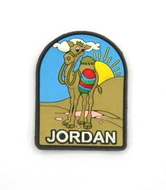 Silicone/Rubber Fridge Magnet tourist souvenirs, Jordan, , # 02036-003