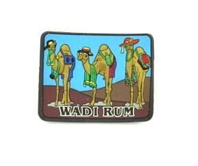 Silicone/Rubber Fridge Magnet tourist souvenirs, Wadi rum, , # 02036-006