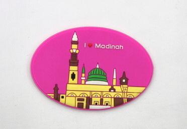 Silicone/Rubber Fridge Magnet tourist souvenirs, madinah, , # 02036-021