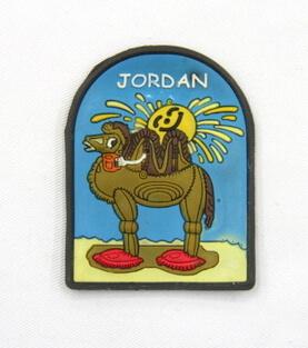 Silicone/Rubber Fridge Magnet tourist souvenirs, Jordan, , # 02036-013