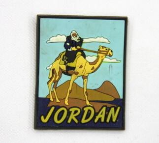 Silicone/Rubber Fridge Magnet tourist souvenirs, Jordan, , # 02036-019