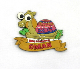 Silicone/Rubber Fridge Magnet tourist souvenirs, Oman, , # 02036-022