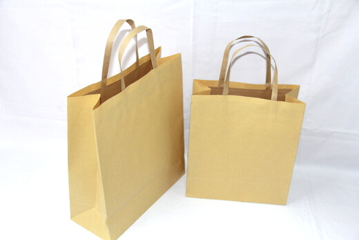 one side 120g craft paper bag #03001