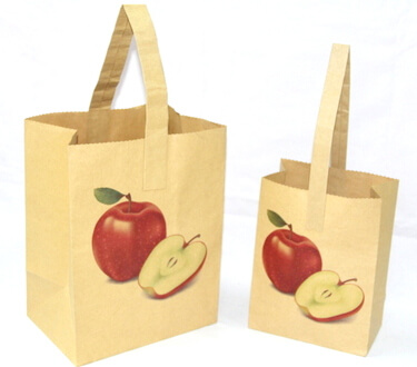 Two sides 150g Craft Paper Bag,, #03006