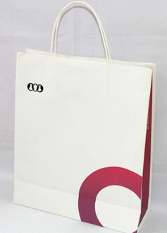 White 180g Craft Paper Bag, #03013