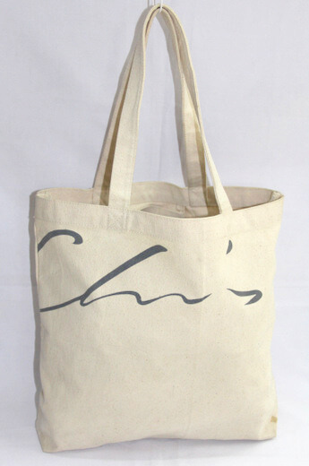 Reusable promotional cotton/canvas shopping totes with custom print/logo, #04-000
