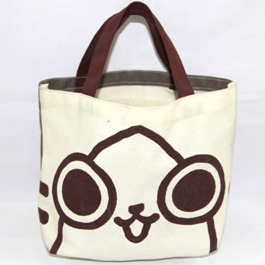 Reusable promotional cotton/canvas shopping totes with custom print/logo, , , #04-054