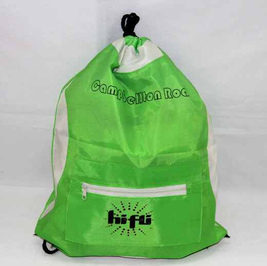 Promotional Polyester Fabrics Drawstring Bags/Backpack in China Yiwu ,for company/organization, #04-096