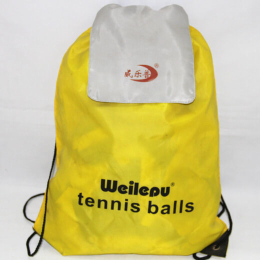 Promotional Polyester Fabrics Drawstring Bags/Backpack in China Yiwu ,tennis, #04-098