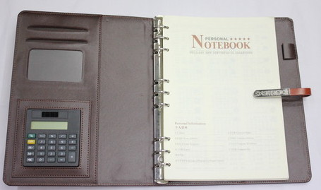 Loose Leaf note book, 0601-001-1
