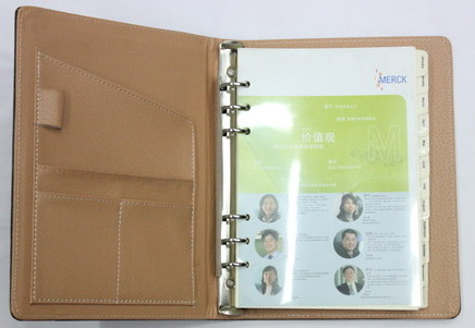 Loose Leaf note book, 0601-031-1
