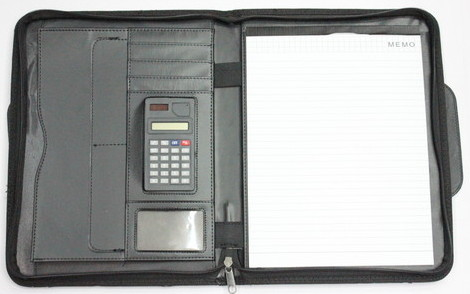 Multi-Purpose notebook with calculator, 0603-007-1
