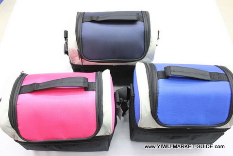 Cooler bag #0801-004-5, good quality, 3 colors mixed