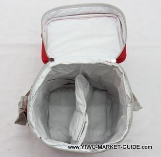 Cooler bag # 0801-023-1, dual compartments