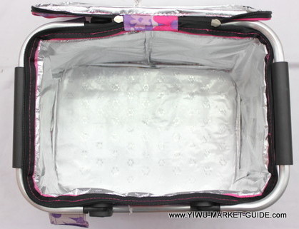 Cooler bag # 0801-035-1, with aluminum handles