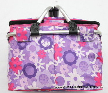 Cooler bag # 0801-035, with aluminum handles